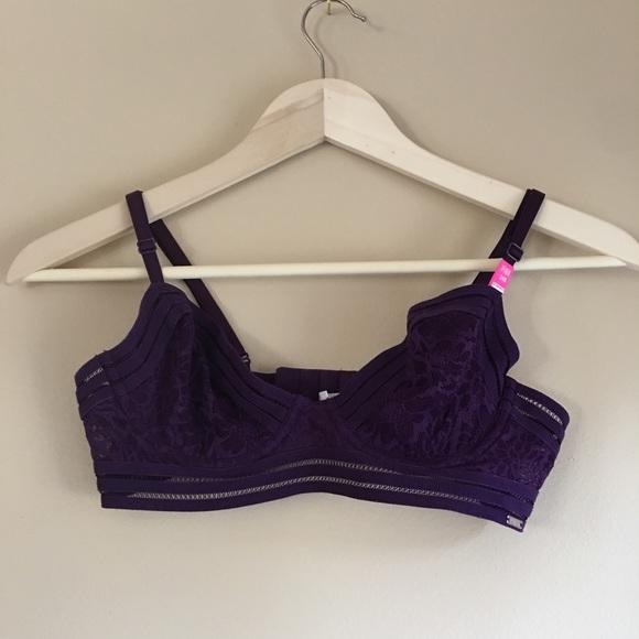 bf375937120 Victorias Secret Pink Tropical Lace Unlined Demi